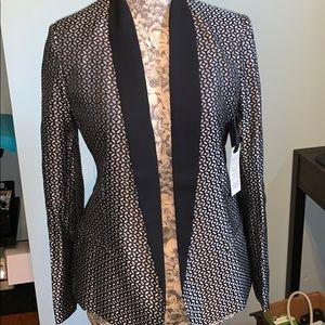 Black and Silver BB Dakota Blazer NWT size 8